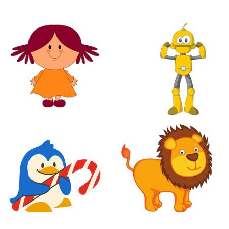 Создаём уникального персонажа для уроков